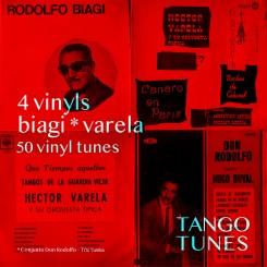 4 vinyls – Biagi Varela Conjunto Don Rodolfo